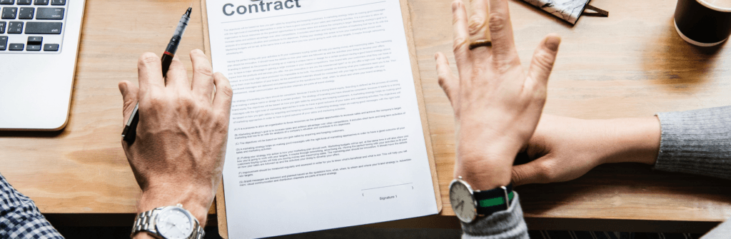 Contract Law Attorneys